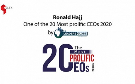 Ronald Hajj, one of the 20 most prolific CEOs 2020