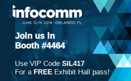 Connect with SilexPro at InfoComm 2019