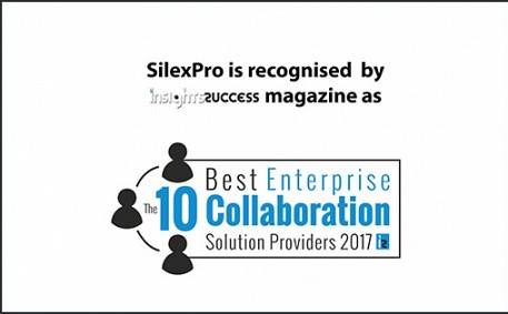 SilexPro selected amongst the 10 Best Enterprise Collaboration Solution Providers 2017 by Insights Success magazine