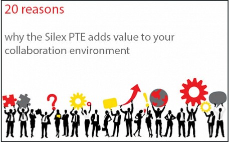 20 Reasons why the Silex PTE adds value to your collaboration environment