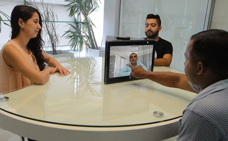 Revolutionizing the way people collaborate in smart meeting rooms